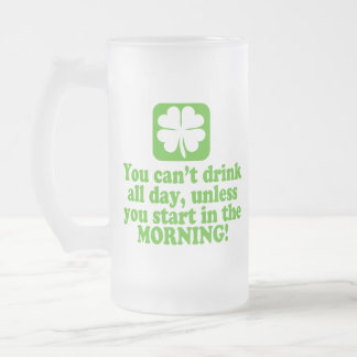 St Patty's Day Green Beer Mug