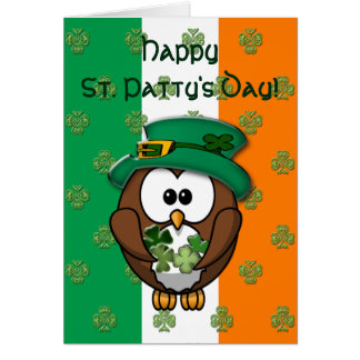 St. Patty's Day Greeting Card