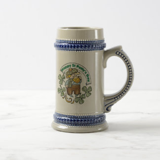 St Patty's Day Happy St. Paddy's Day Beer Stein