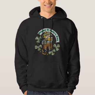 St Patty's Day Happy St. Paddy's Day Hooded Pullovers