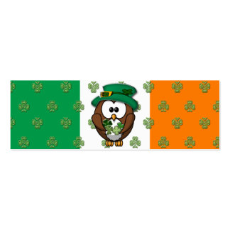 St. Patty's Day Pack Of Skinny Business Cards