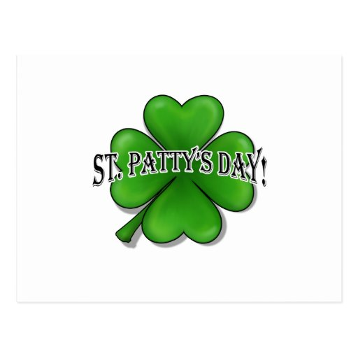 St. Patty's Day Post Card