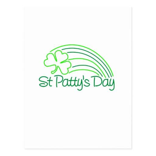 St Patty's Day Postcard