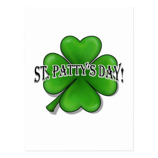 St. Patty's Day Postcard