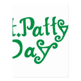 St. Pattys Day Postcard