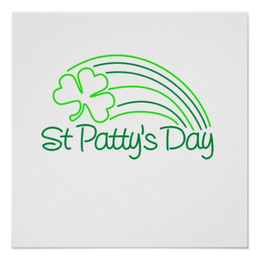 St Patty's Day Posters