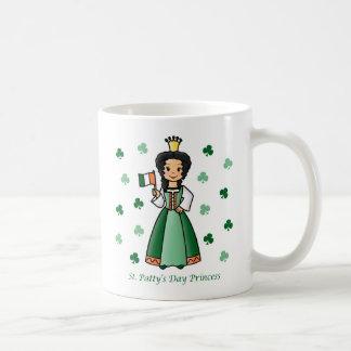 St. Patty's Day Princess Coffee Mugs