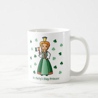 St. Patty's Day Princess Coffee Mug