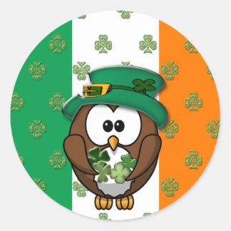 St. Patty's Day Round Sticker
