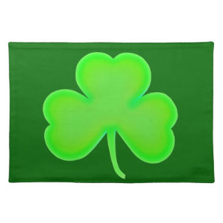 St Patty's Day Shamrock Placemat