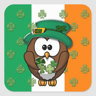 St. Patty's Day Square Sticker