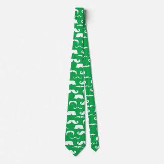 St. Patty's Mustache Tie
