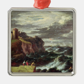 St. Paul arriving at Malta Christmas Ornament