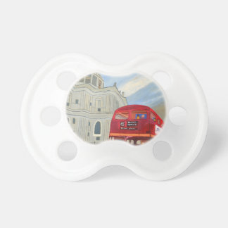 St.Paul Cathedral and London Bus Dummy