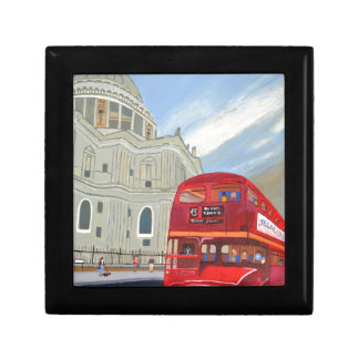 St.Paul Cathedral and London Bus Gift Box