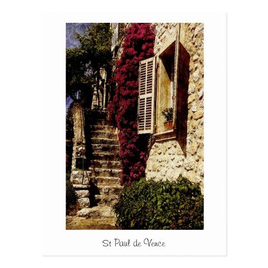St Paul de Vence, Provence, France Postcard