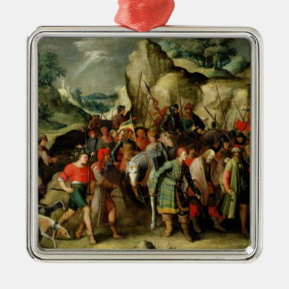 St. Paul Led to Damascus After his Conversion Christmas Ornament