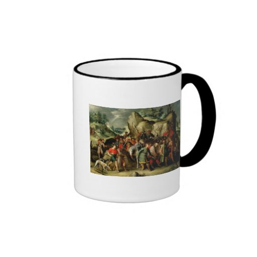 St. Paul Led to Damascus After his Conversion Coffee Mug
