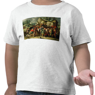 St. Paul Led to Damascus After his Conversion Tee Shirt