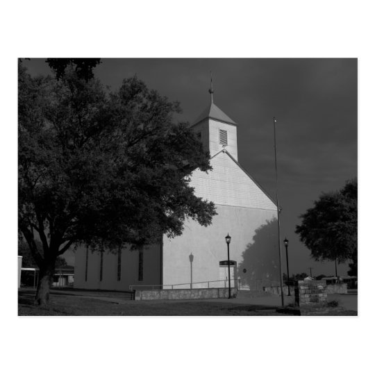 St. Paul Lutheran Church - Serbin, TX - Post Card