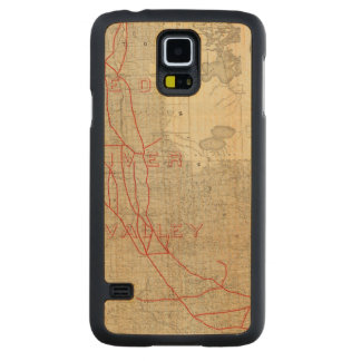 St Paul, Minneapolis and Manitoba Railway Carved Maple Galaxy S5 Case