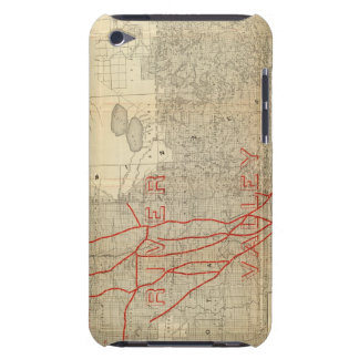 St Paul, Minneapolis and Manitoba Railway Case-Mate iPod Touch Case