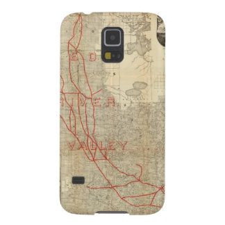 St Paul, Minneapolis and Manitoba Railway Galaxy S5 Cover