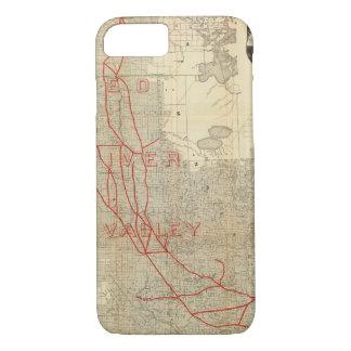 St Paul, Minneapolis and Manitoba Railway iPhone 8/7 Case