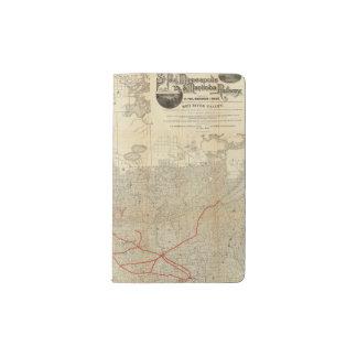 St Paul, Minneapolis and Manitoba Railway Pocket Moleskine Notebook