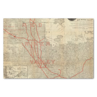 St Paul, Minneapolis and Manitoba Railway Tissue Paper