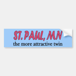 St. Paul Minnesota Bumper Sticker