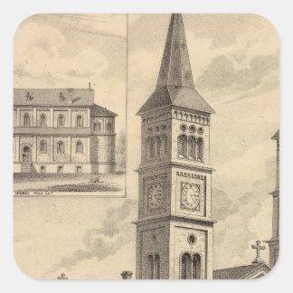 St Paul Minnesota Lithograph Stickers