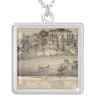 St. Paul, Minnesota Silver Plated Necklace