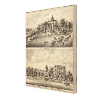 St. Paul, Minnesota Stretched Canvas Prints