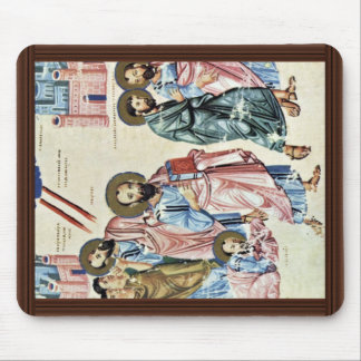 St. Paul On The Road To Damascus By Meister Nach C Mouse Pad