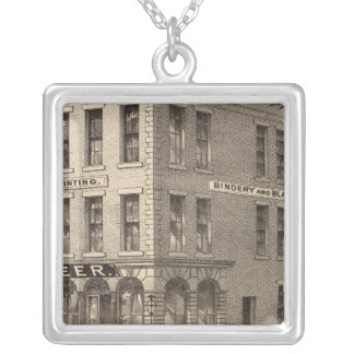St. Paul Pioneer Silver Plated Necklace