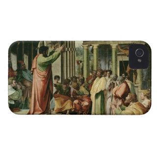 St. Paul Preaching at Athens (cartoon for the Sist iPhone 4 Cases
