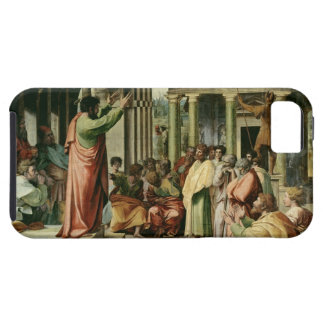 St. Paul Preaching at Athens (cartoon for the Sist iPhone 5 Cover