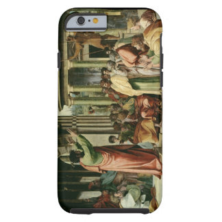 St. Paul Preaching at Athens (cartoon for the Sist Tough iPhone 6 Case