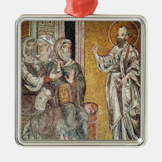 St. Paul Preaching to the Jews Christmas Ornament