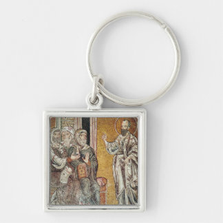 St. Paul Preaching to the Jews Key Ring