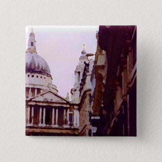 St Paul's, London. 15 Cm Square Badge
