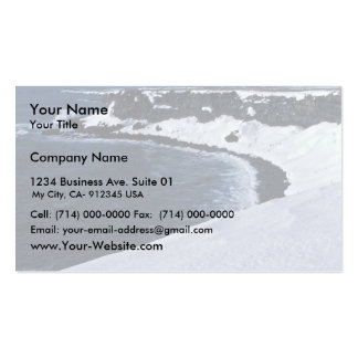 St. Paul seabird cliffs, Bering Sea Business Card Template