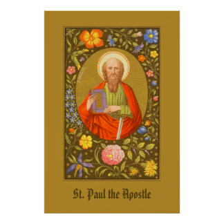St. Paul the Apostle (PM 06) Poster #1