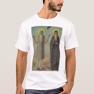 St Paul The Hermit With St Anthony The Great T-Shirt