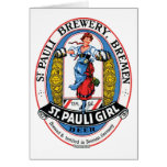 St. Pauli Girl Brewery Bremen Greeting Card