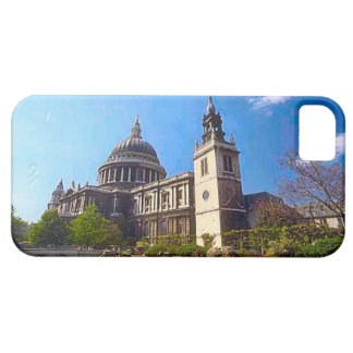 St Paul's and a Wren Church Barely There iPhone 5 Case