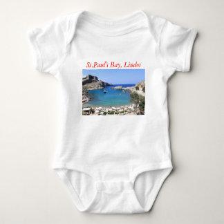 St.Paul's Bay, Lindos Baby Bodysuit