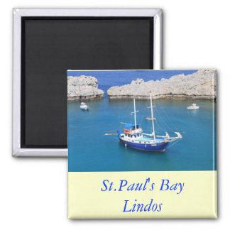 St.Paul's Bay, Lindos Magnet