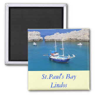 St.Paul's Bay, Lindos Square Magnet